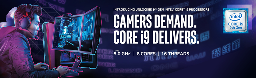 Intel Core i9 Gaming PCs