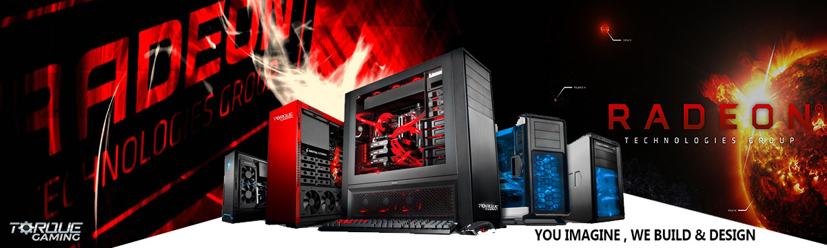 Intel Radeon Gaming PCs