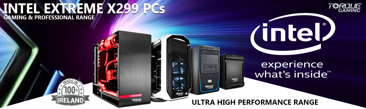 Intel Extreme X299 Gaming PCs