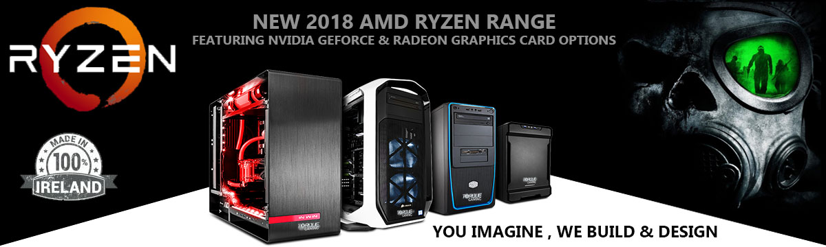 AMD Ryzen Vega Gaming PCs