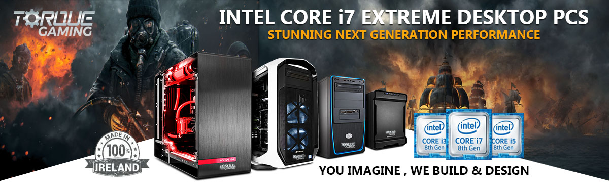Intel Extreme Core i7 Edition Gaming PCs