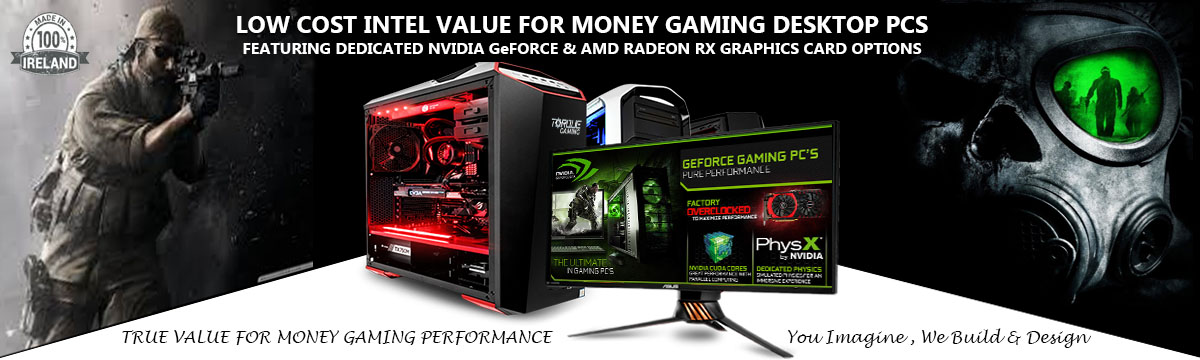 Intel Gaming Desktop PCs