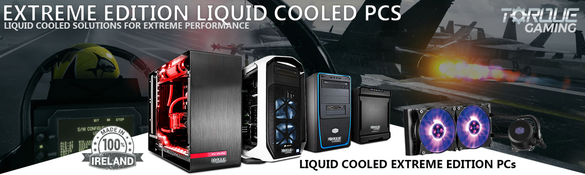 Extreme AIO Liquid Cooled PCs