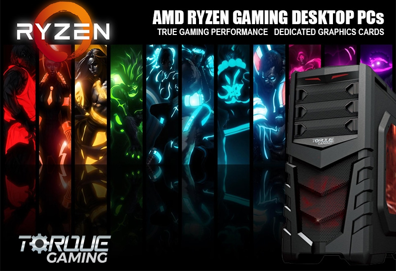 TorQue Gaming Desktop PCs - Manufactured in Ireland by Irelands Number 1 PC Manufacturer www.CUSTOMPC.ie