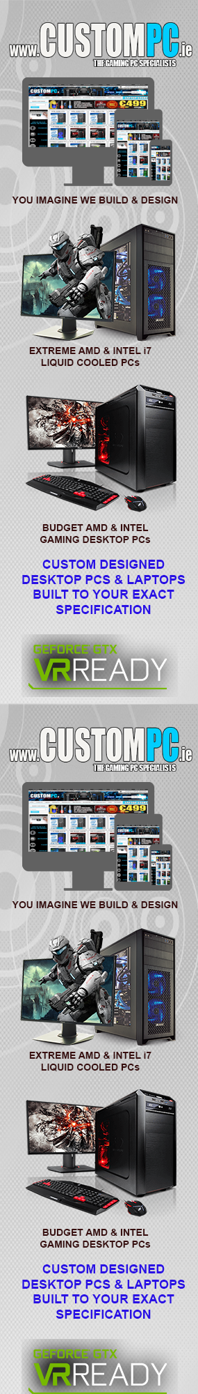 www.CUSTOMPC.ie IRELANDs GAMING PC SPECIALISTS
